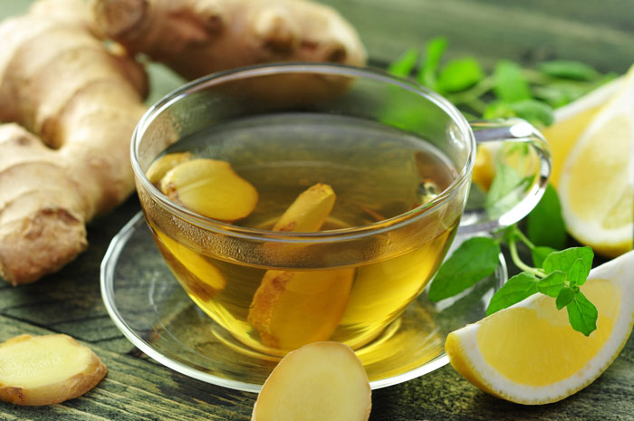 despre ceaiul de ghimbir