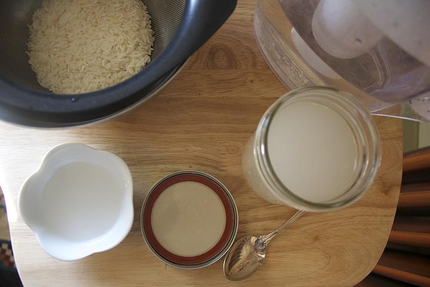how to make rice toner