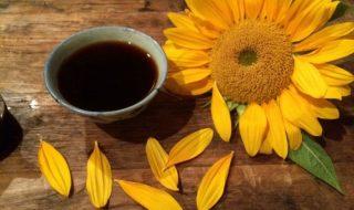 ceai de floarea-soarelui
