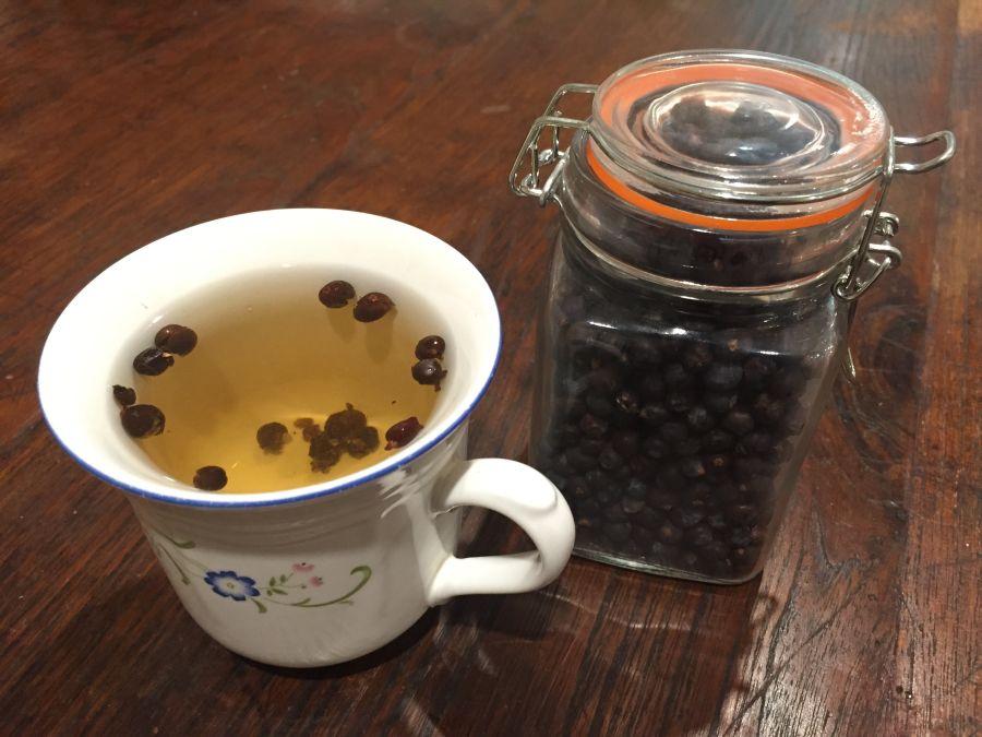 ceai de ienupar